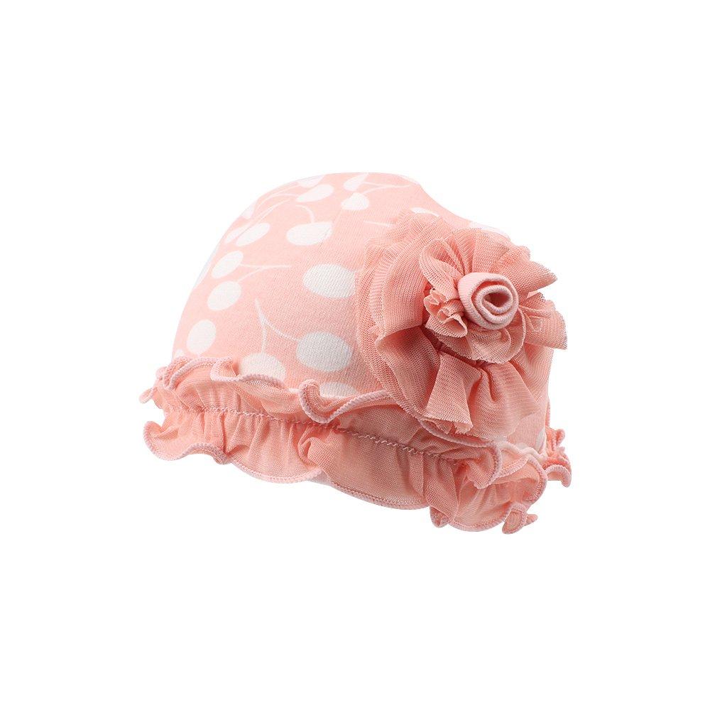 Iridescentlife Solid Newborn Tire Beanies Cotton Girls Boys Hat