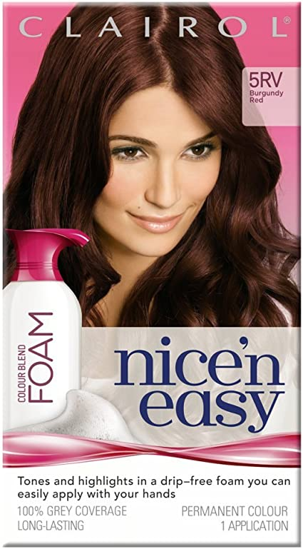 Tinte Nicen easy con mezcla de color negro azulado, 2 tonos ...