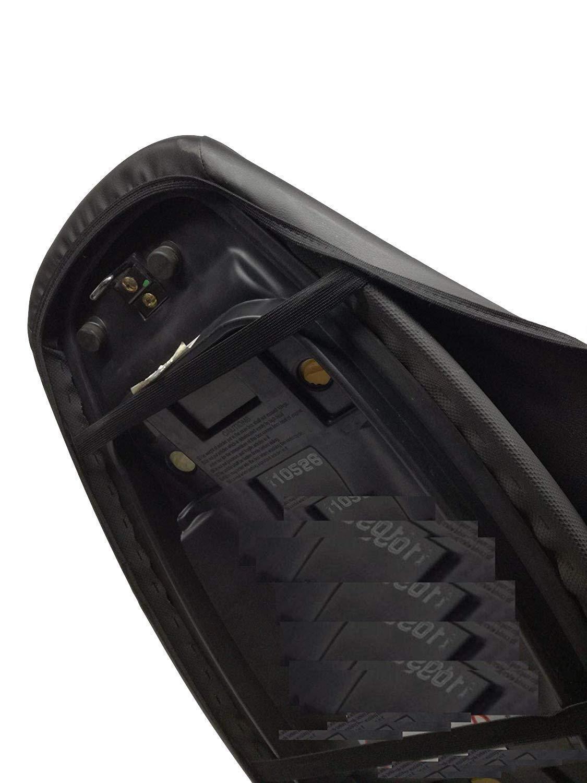 Sellino CICMOD Sella Sellino Cuscino del Sedile per Harley Davidson XL883 XL1200 X 48