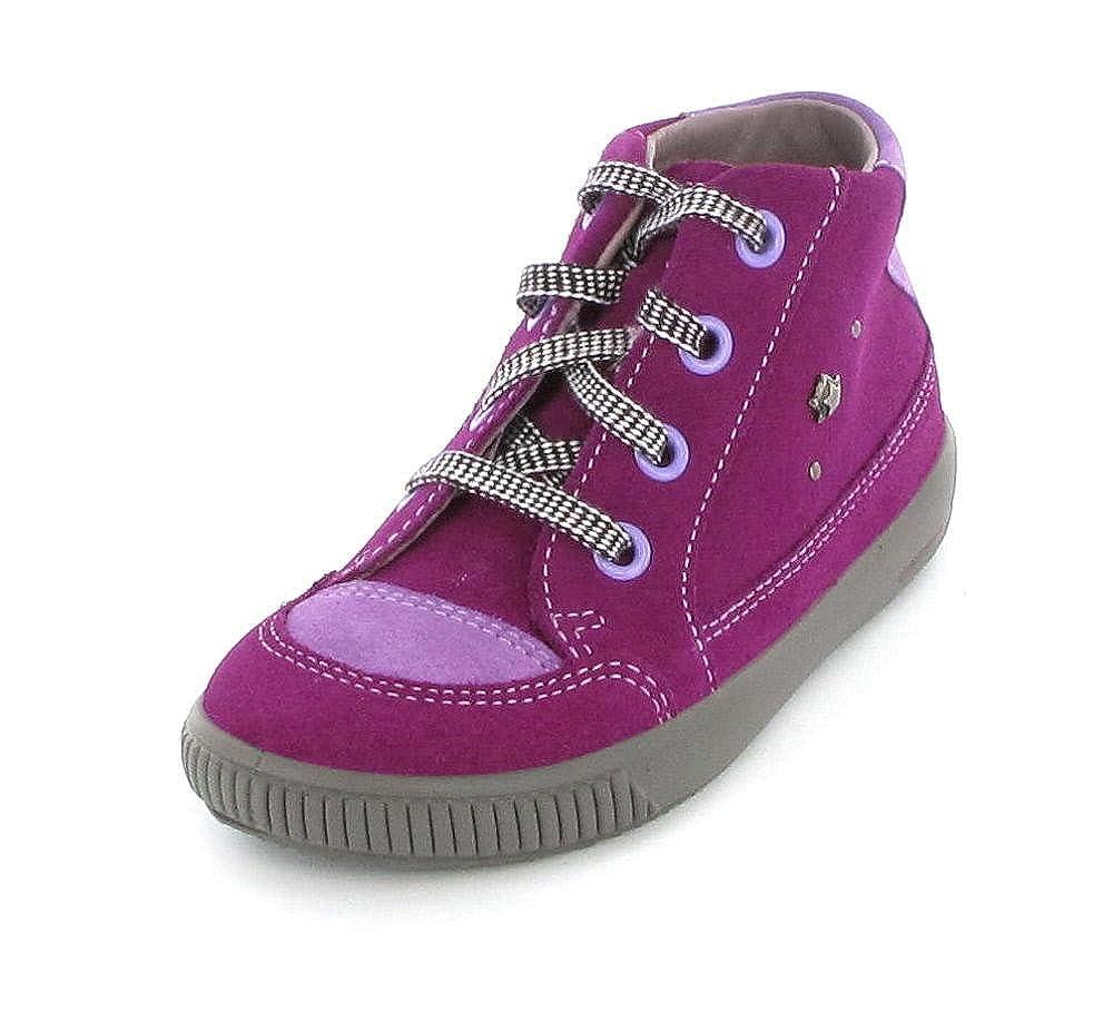 Superfit , Chaussures premiers pas pour bébé (fille) Violet Violett (Pink Berry)