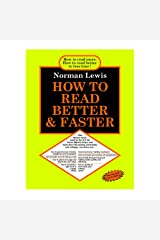 HOW TO READ BETTER & FASTER NEW FOURTH EDITION (2020) EXCLUSIVE GOYAL PUBLISHERS Paperback