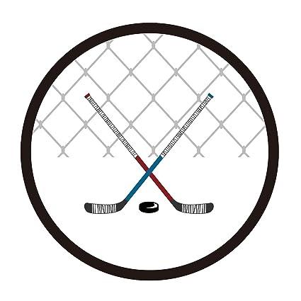 Amazon Magjuche Hockey Themed Party Stickers Birthday Baby
