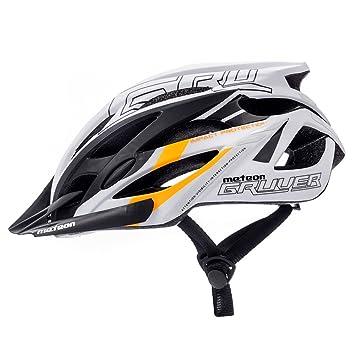 Meteor Bicicleta Casco gruver: adultos unisex & juvenil para cascos casco para ciclistas Cilindro de