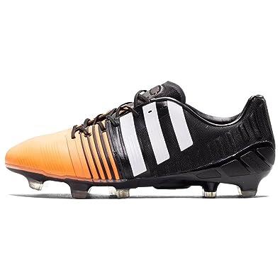 adidas Nitrocharge 1.0 FG Men's Football Boots, Black/Orange, ...
