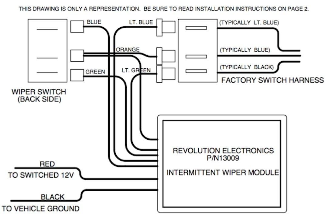 61RKpvzZ02L._SL1080_ amazon com revolution electronics intermittent wiper module for