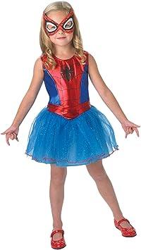 Rubies - Disfraz para niña con diseño Spider-Girl, talla S (3888884 ...