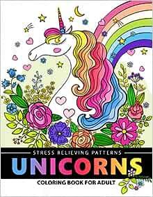 Amazon.com: Unicorn Coloring Book for Adults: A Fantasy ...