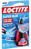 Henkel-Loctite 1647358 2 Pack 4-Gram Bottle Super Glue Ultra Liquid Control, Clear