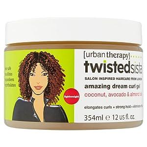 Twisted Sista Amazing Dream Curls Cream Gel, 12 Ounce