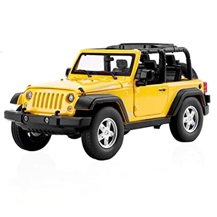 Amazon Com Gbdone Pull Back Toy Cars 1 32 Jeep Wrangler Rubicon