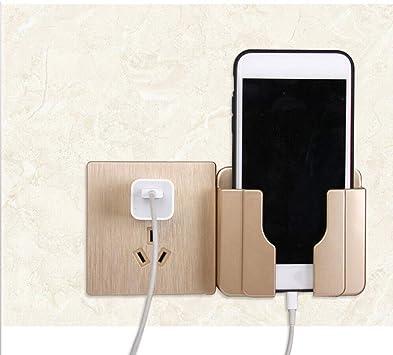 Soporte de carga para teléfono móvil, montaje en pared, soporte de ...