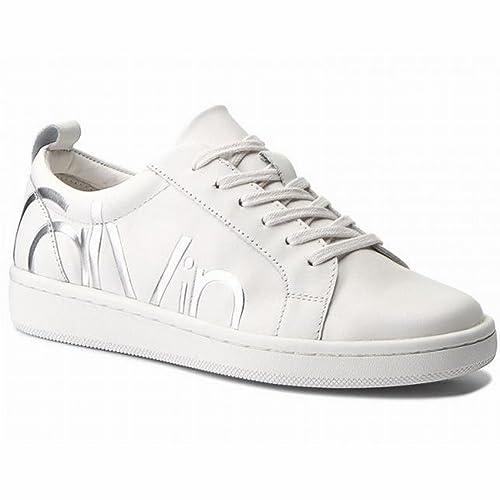 Calvin Klein Calvin Klein Danya Cow Silk Platinum White E5827pli ... b255bf07567