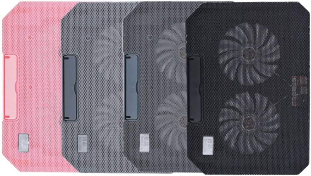 Color : Pink Chenjinxiangou01 Notebook Cooler Computer Stand//Base Fan Heightening Bracket ,All-Round Cooling with USB to USB Cable
