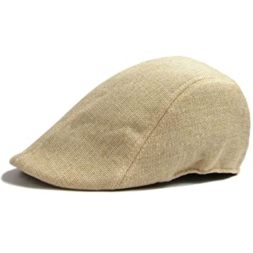 88e9a4ce0ae43 MEXUD -Casual Men Women Duckbill Ivy Cap Golf Driving Sun Flat Cabbie  Newsboy Beret Hat