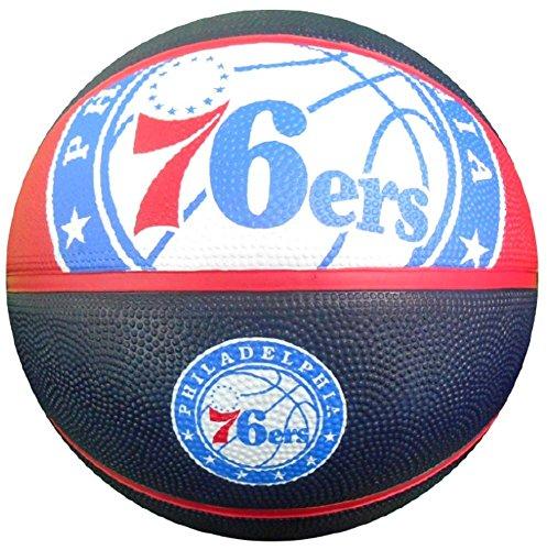 fan products of Spalding NBA Philadelphia 76ers Courtside Team Basketball - Size 7 (29.5