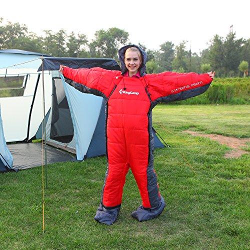 KingCamp 3 Season Body Sleeping Free Walker Design