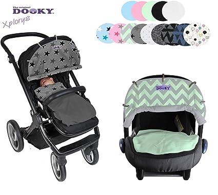 Original DOOKY ** Style UV+ 40 ** Parasol / Protección solar universal para cochecitos, capazos y sillas de paseo