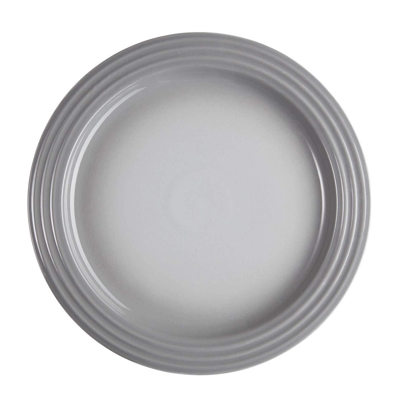 Le Creuset Plato Cerámico, Mist Grey, 27 cm: Amazon.es: Hogar