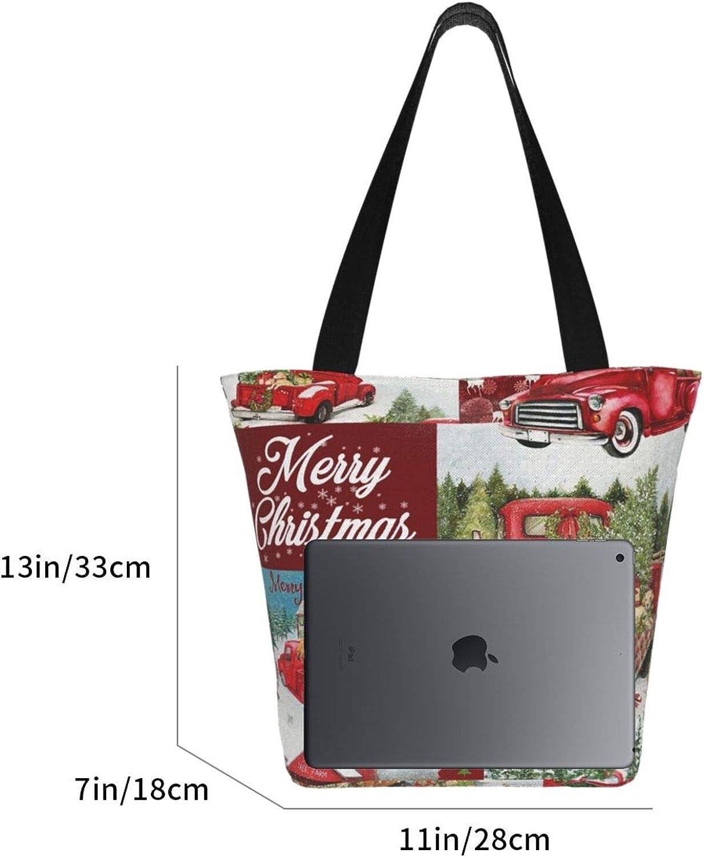 Women Beach Shoulder Bag Handbag Hobo Canvas Shopping Tote Zipper