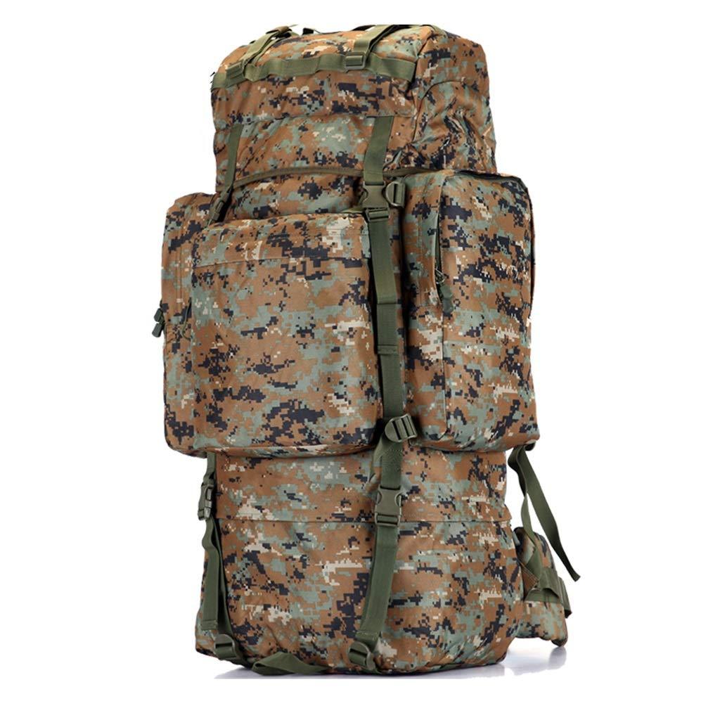 インナーフレーム屋外ハイキングバックパック、防水砂防山またはジャングルアドベンチャートラベルバックパック、迷彩のすべての種類 100L  B07NPJZ4M3