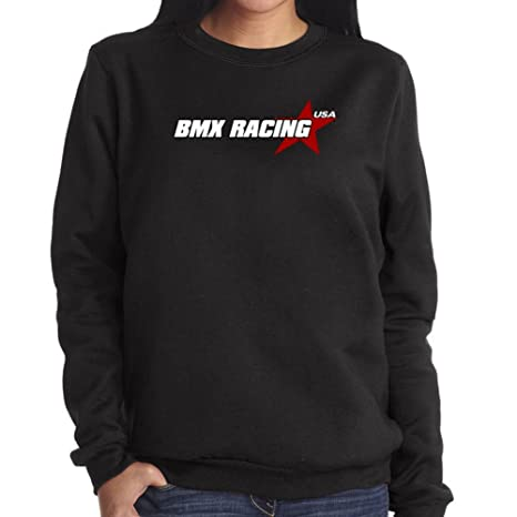 Sudadera de Mujer Bmx Racing USA STAR