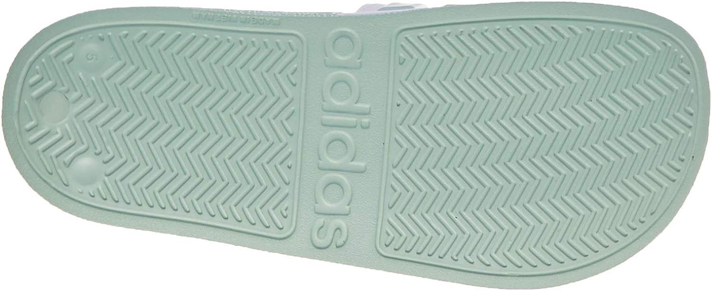adidas Adilette Shower, Sandalias para Mujer Green Tint Footwear White Green Tint