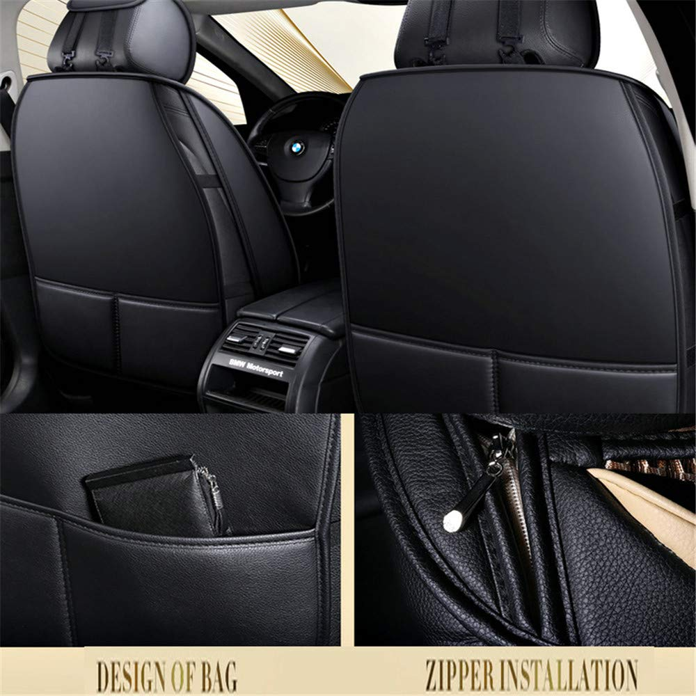 Fundas para asientos negro delantero kos bmw x3