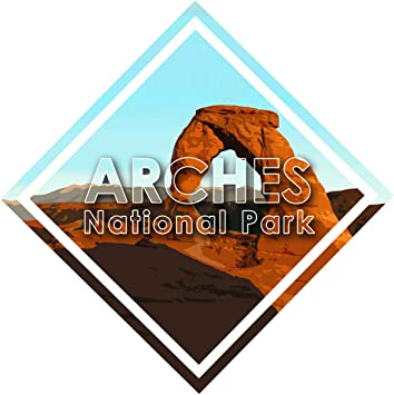 Vincit Veritas Zion National Park Decal Sticker Car Rv Car Bumper US Travel Design S025