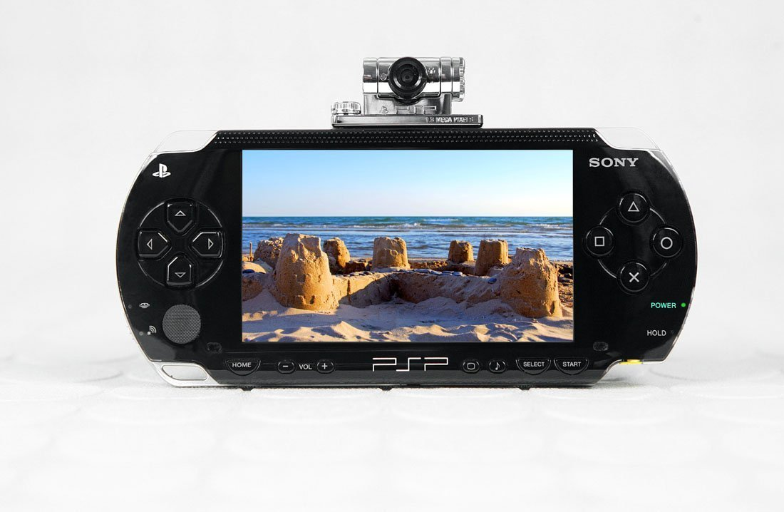 Sony PSP 1.3 Megapixel Chotto Shot Camera for PlayStation by Sony (Image #6)