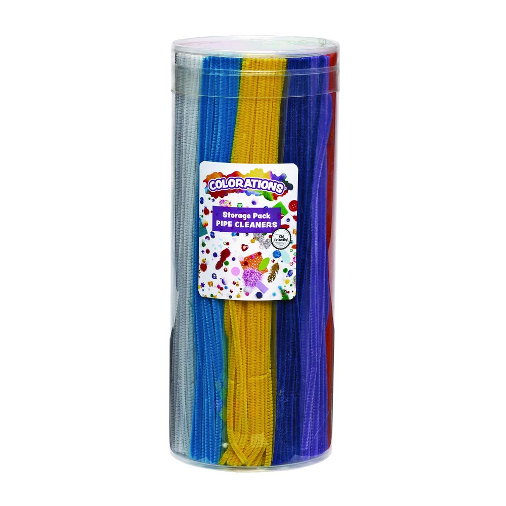 Colorations PIPE12PK 12 Color Pipe Cleaner Multi-Pack by Colorations