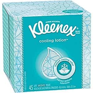 Amazon.com : Kleenex Cooling Lotion Facial Tissues, 1 Cube