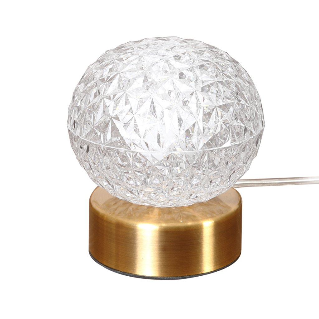 Freya Lámpara Creativa Moderna lámpara de acrílico de la Personalidad Simple Lámpara cálida y romántica lámpara de cabecera de Estudio del Dormitorio