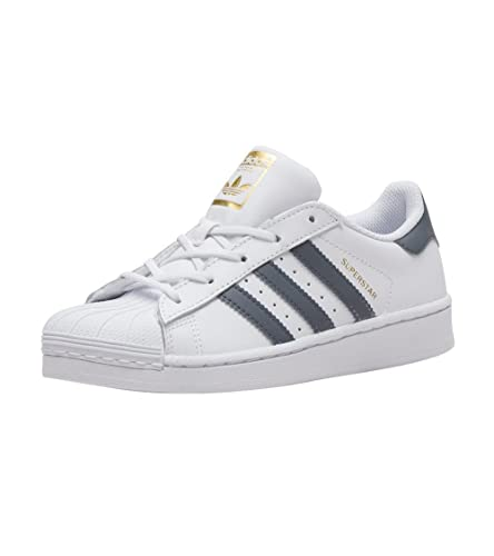 buy popular 15581 da40e adidas Superstar C White Onix Gold (Little Kid) (11 M US