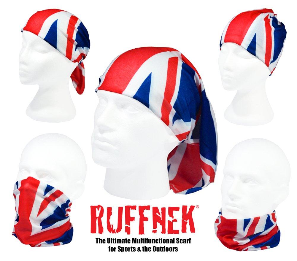 CALENTADOR CUELLO BUFF ROSA MARIPOSAS - RUFFNEK® Multifuncional ...