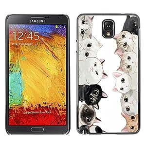 Dragon Case - FOR Samsung Note 3 N9000 - ?I am with you - Caja protectora de pl??stico duro de la cubierta Dise?¡Ào Slim Fit