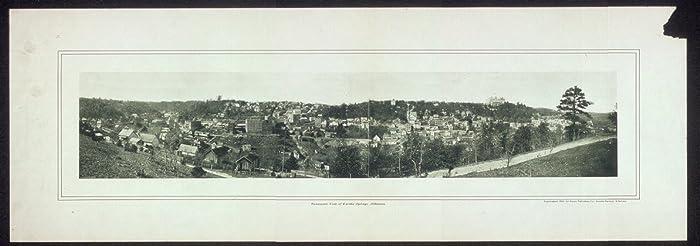 Photo Panoramic view of Eureka Springs, Arkansas 1901