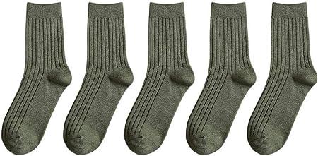 HDWD Calcetines de algodón Calcetines Hombres Calcetines de Tubo S Medias Otoño e Invierno Algodón Tendencia Hombres Calcetines S Retro Hombres S Calcetines de algodón Transpirable Sudor-7: Amazon.es: Hogar