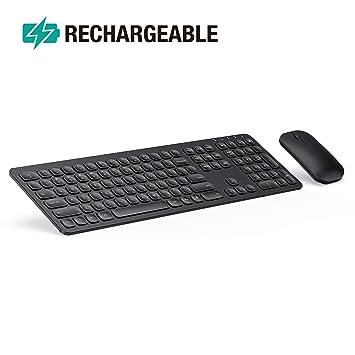 Amazon.com: Jelly Peb KS037 - Ratón de teclado inalámbrico ...