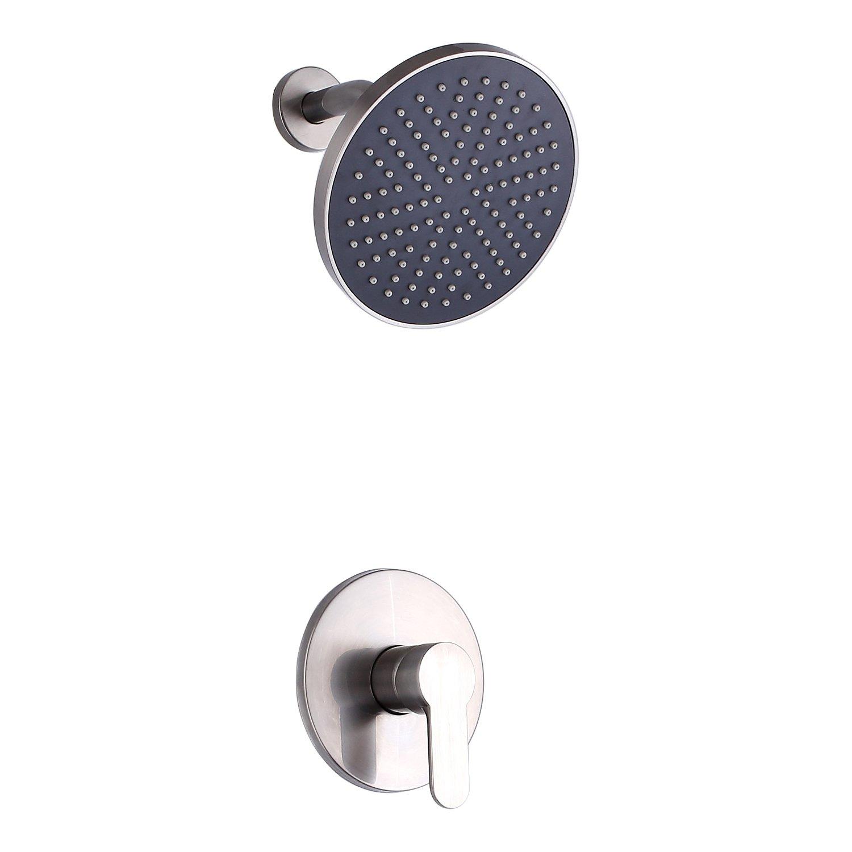 hot sale 2017 SUMERAIN Brushed Nickel Shower Faucet Set Single ...