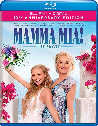 Blu-ray : Mamma Mia! (10th Anniversary Edition) (Anniversary Edition, 2 Pack, Digital Copy, 2PC)