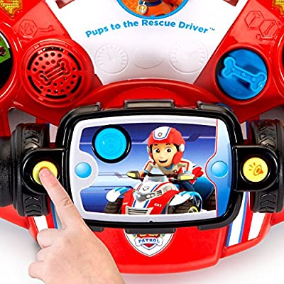 VTech Paw Patrol Pups to The Rescue Driver: Toys & Games