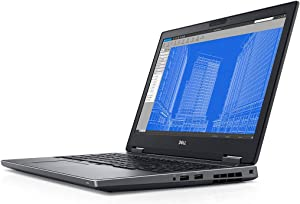 "Dell Precision 15 7530 15.6"" FHD Mobile Workstation Laptop w/ i5-8300H / 16GB / 512GB SSD / Quadro P1000 / Windows 10 (Renewed)"