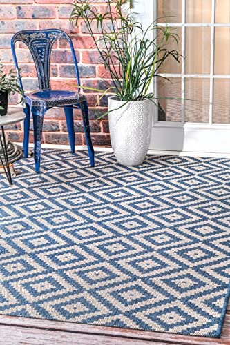 nuLOOM Marybelle Tribal Diamond Indoor/Outdoor Area Rug