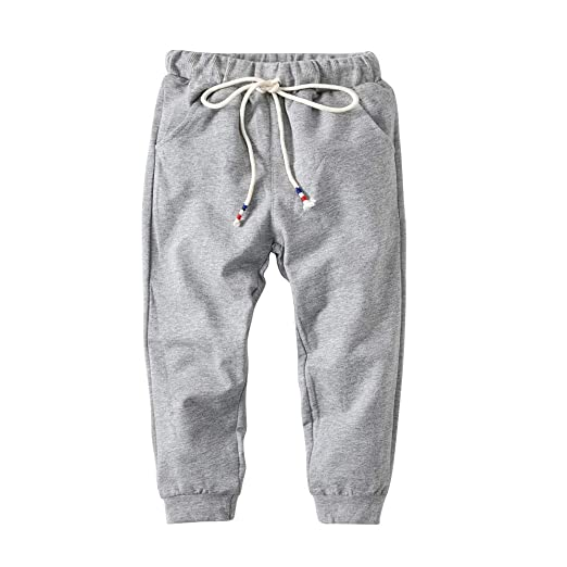 Fengbingl-cl Los bebés de los Pantalones Ocasionales Pantalones de ...