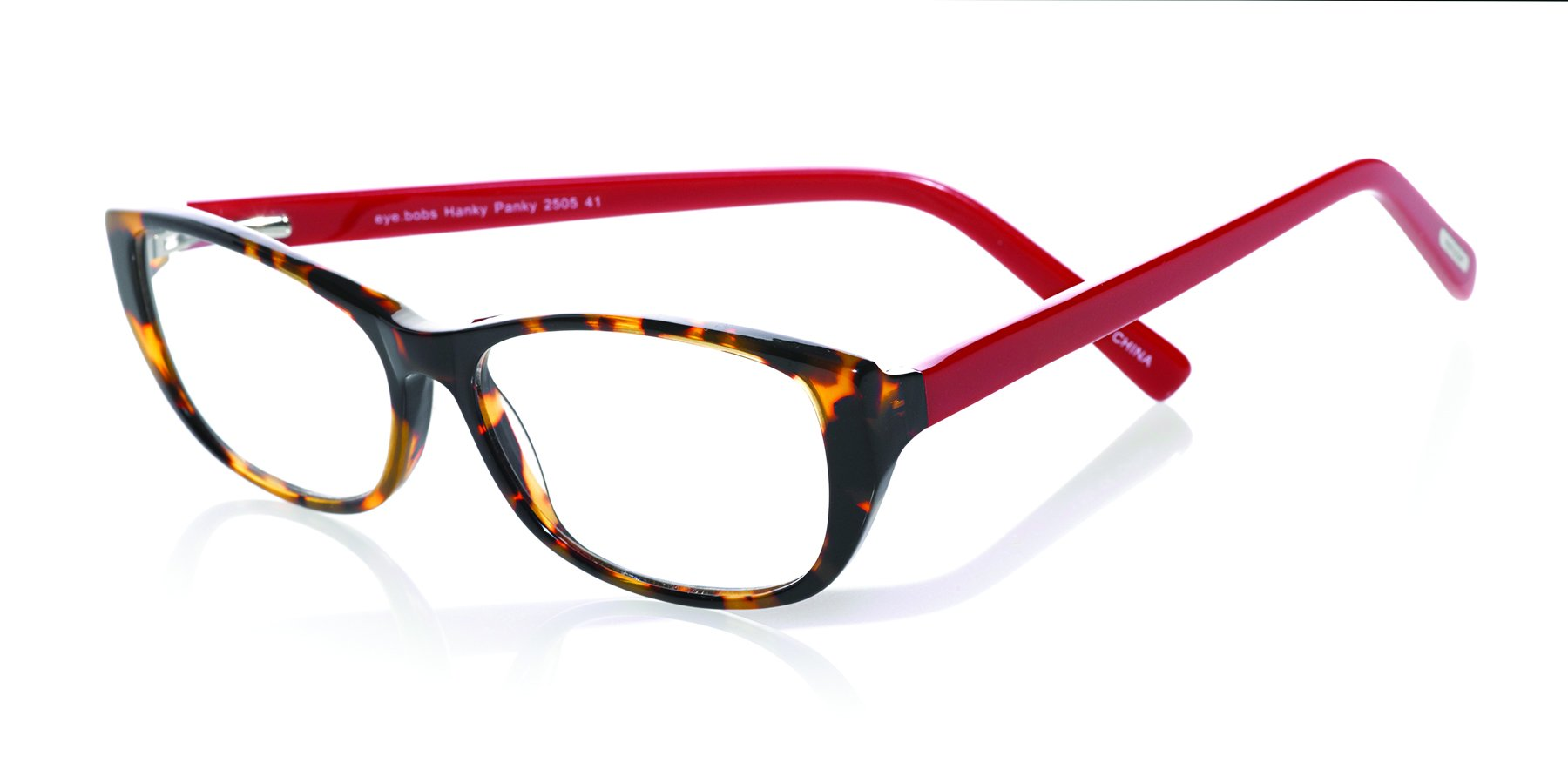 eyebobs Hanky Panky, Tortoise and Red, Reading Glasses Superior Quality – Because Your Eyes Deserve The Good Stuff