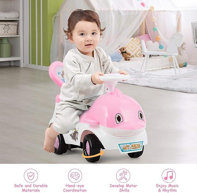 Amazon.com: Baby Joy Baby - Carrito de juguete 3 en 1 con ...