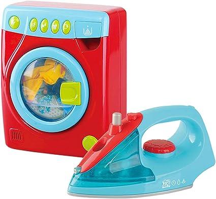 PlayGo - Set plancha y lavadora con luz y sonido (46412): Amazon ...