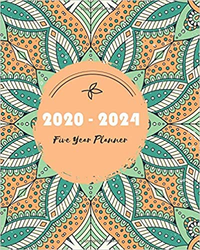 Amazon.com: 2020-2024 Five Year Planner: Colorful Mandala ...