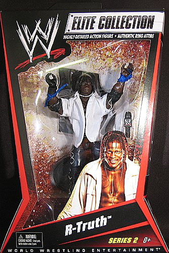 R-TRUTH - ELITE 2 WWE TOY WRESTLING ACTION FIGURE