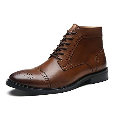 8ca76f8036661 La Milano Men's Dress Shoes Argentinean Genuine Leather Shoes Handmade  Modern Classic Casual Dress Boot for Men